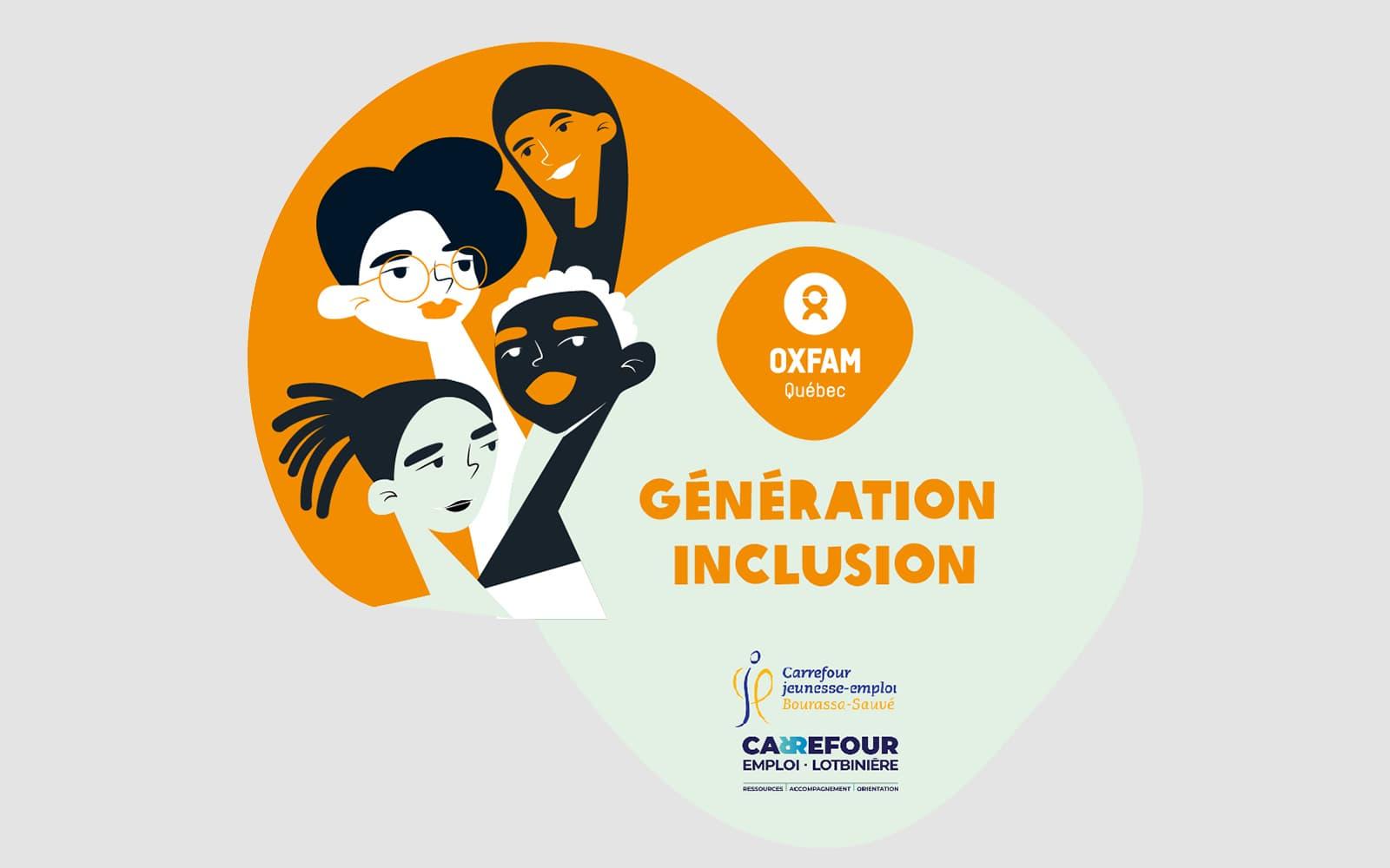 Logo du projet Génération Inclusion