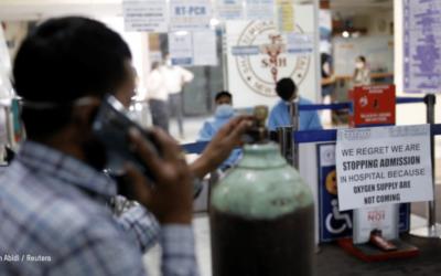 L'Inde frappée par une vague dévastatrice de COVID-19 : Oxfam intervient