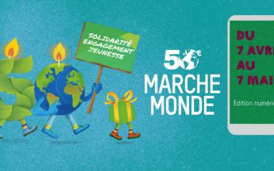 Marche Monde: 50 millions de pas, ensemble pour le climat