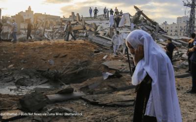 Déclaration d'Oxfam sur l'escalade des hostilités dans le Territoire palestinien occupé et en Israël