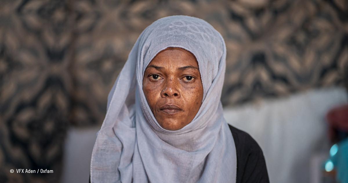 Hanan, une mère réfugiée au Yémen